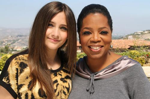 Interview de Paris Jackson pour Oprah Winfrey