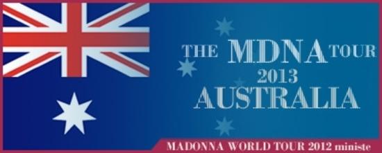 The MDNA Tour - Australia 2013