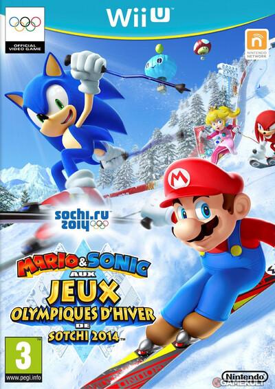 Mario & Sonic aux jeux olympiques de Sotchi 2014