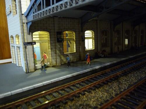 Eclairages de la gare