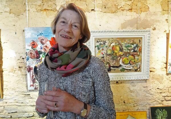 Karin Neumann a exposé à Nesleen avril 2015