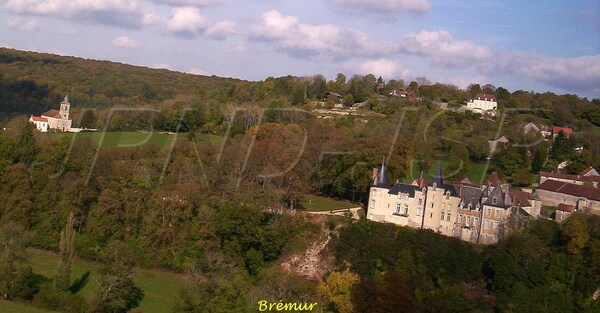 Le Châtillonnais vu du ciel, le canton de Châtillon sur Seine, première partie