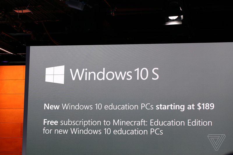 Windows 10 S est la réponse de Microsoft à Google Chrome OS
