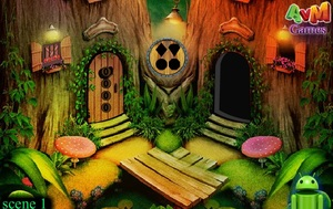 Jouer à Fantasy tree cottage escape