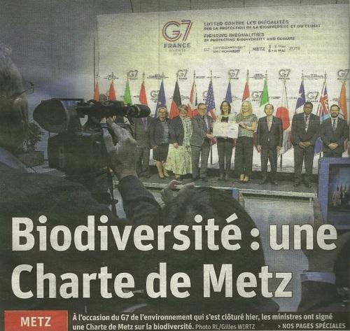 Le G7 à Metz...