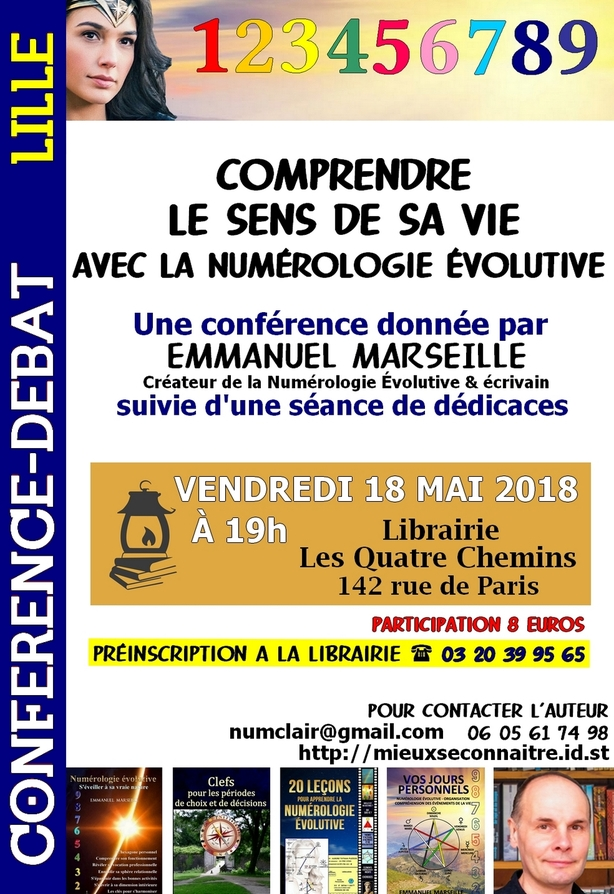 Conférence le 18 mai