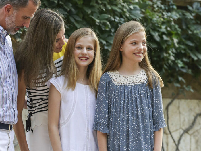 Photos annuelles de la famille royale d'Espagne