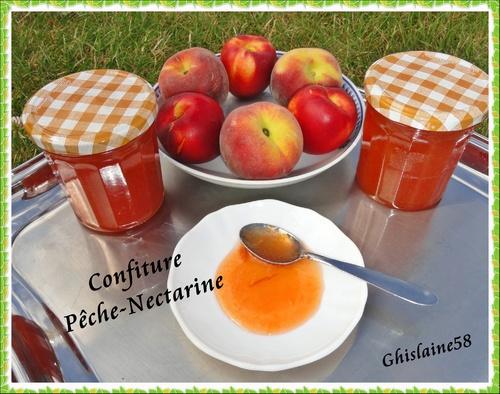 Confiture Pêche-Nectarine 2ème
