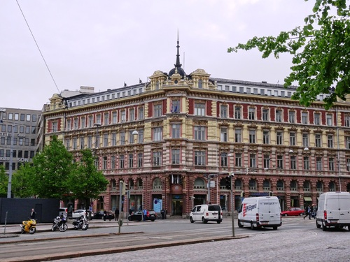 Helsinki en Finlande: le long de l'avenue Aleksanterinkatu (photos)