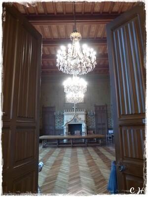 Redon..mairie :l'Escalier d'Honneur