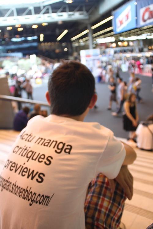 mangafan à la JAPAN EXPO
