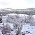 L'hiver sur le causse de Sauveterre