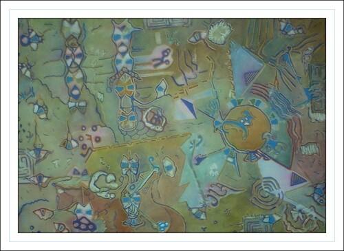Avatar N 2510 aquarelle et gouache sur papier d' Arches . JG