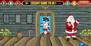 Jouer à Gift Santa Claus rescue