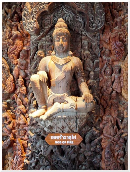 Photos de Thaïlande. Le Sanctuaire de la Vérité 2/