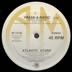 Atlantic Starr - Freak A Ristic