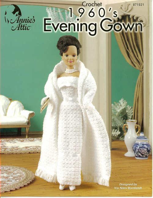 Robe du soir au crochet pour Barbie