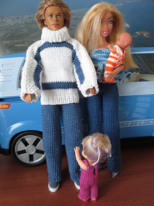 Ensemble couleur jean pour Ken