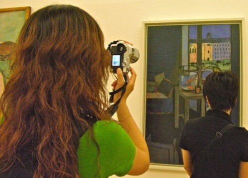 photo tableau Matisse Beaubourg 2