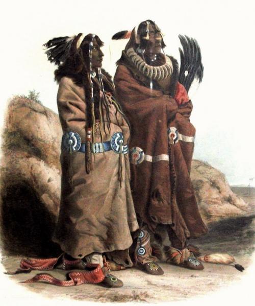 L'HISTOIRE des INDIENS depuis la préhistoire...