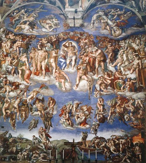 L'apocalypse, confrontation de Jupiter et Saturne