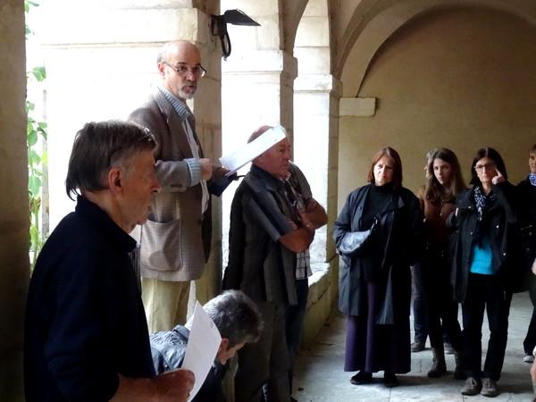 Visite de la crypte de saint Bernard avec les Amis du Châtillonnais
