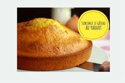 Gâteau au yaourt salé
