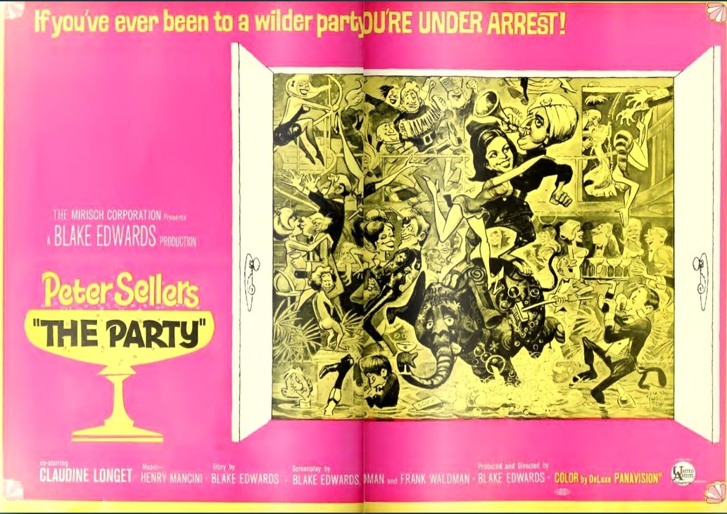 THE PARTY BOX OFFICE USA 1968