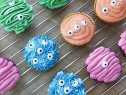 Cupcakes Monstres pour Halloween