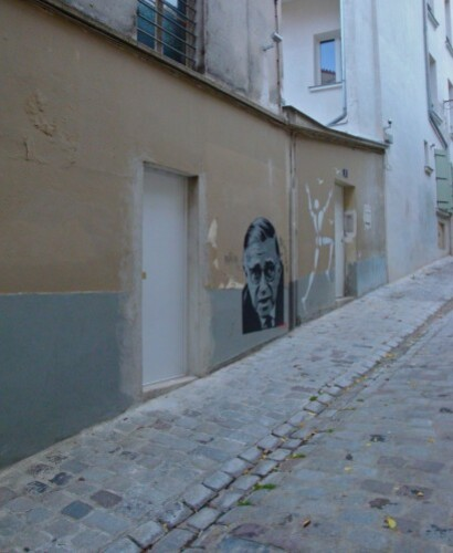 Pitr Sartre Mesnager Montmartre street-art