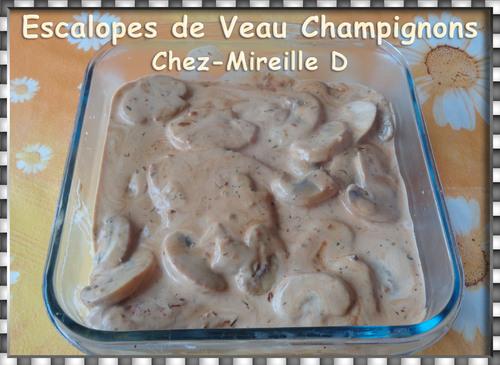 Escalopes de Veau aux Champignons