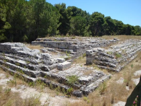 Syracuse, autel de Hieron II.ajpg