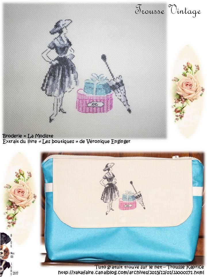 Trousse Vintage pour Valérie