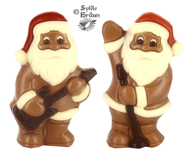 Tubes chocolats création 2