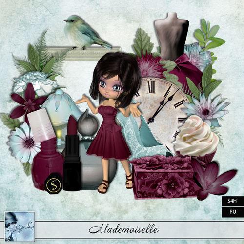Mademoiselle by Louise L + freebie