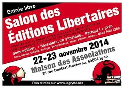 Salon des Editions Libertaires - 2014