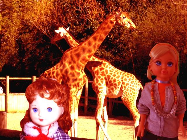 Amandine et Cathy au Zoo
