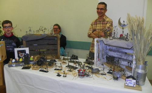 """Marché créatif à Brens 2015 """" La campagne """""""