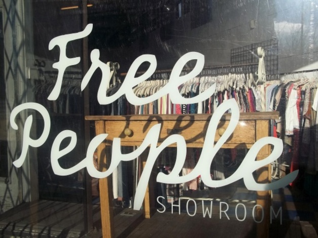 Free People, à Bucktown.