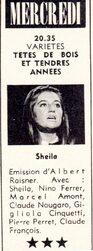 08 novembre 1967 / TETES DE BOIS