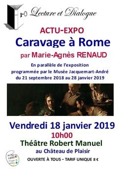 Actu-expo du 18 janvier 2019