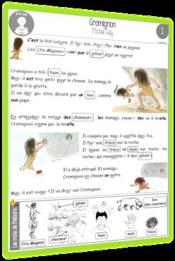 Cromignon : texte CP