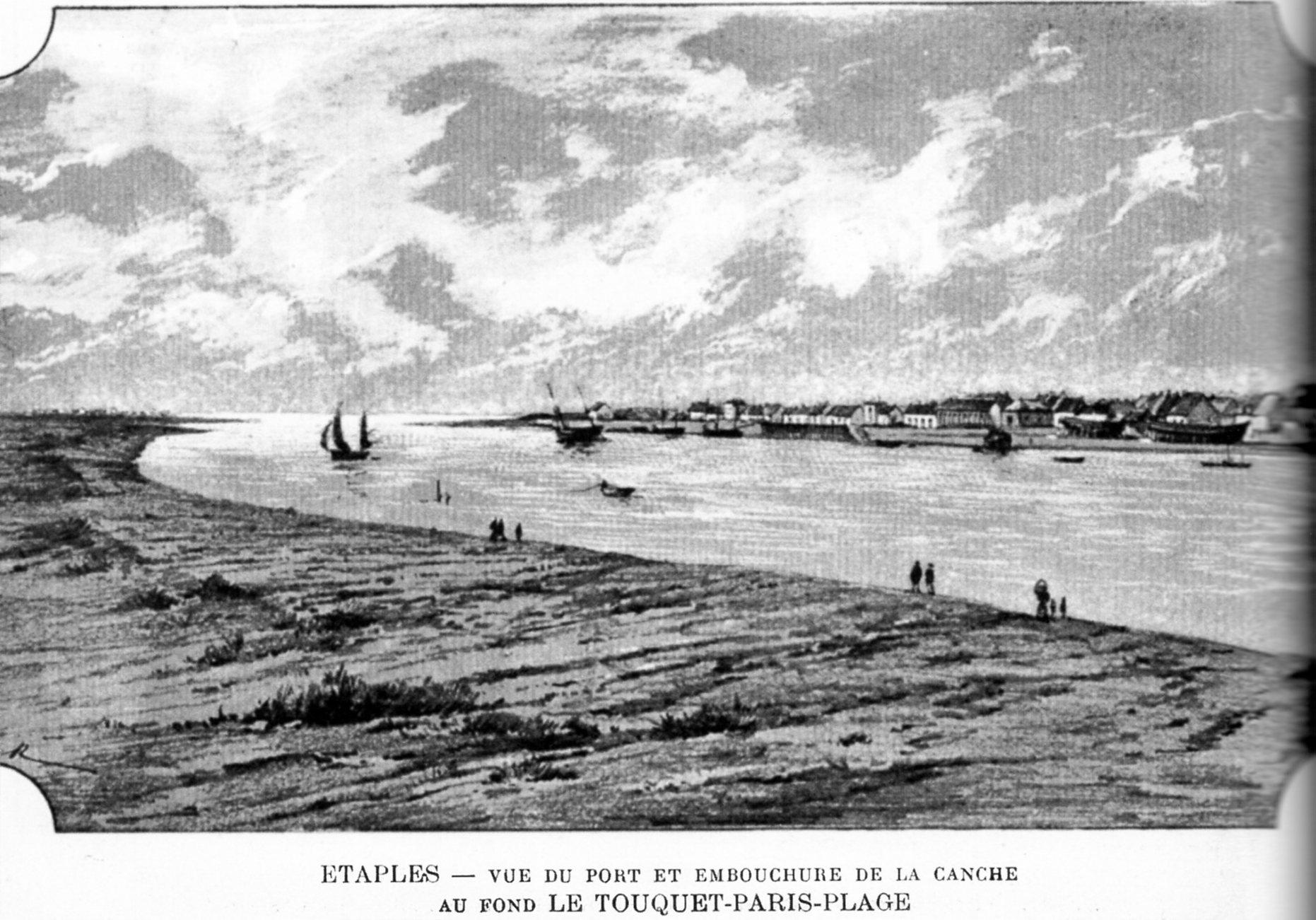 Etaples Stella et Merlimont plage Calais Avant hier