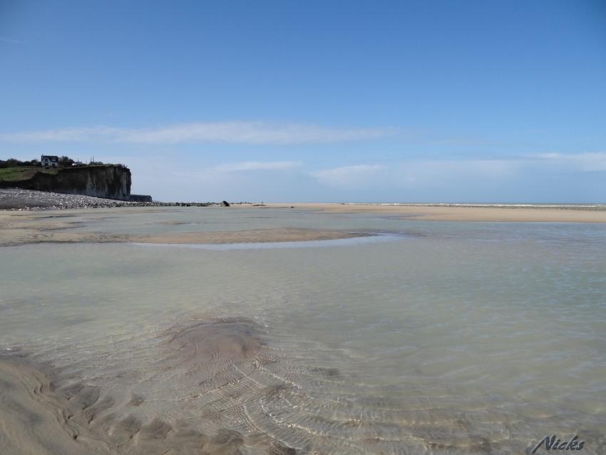 Saint -Aubain sur mer,