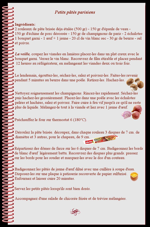 Petits pâtés parisiens
