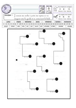 Fiches de graphisme GS période 1 et 2