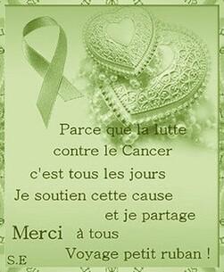 Lutte contre le Cancer ♥
