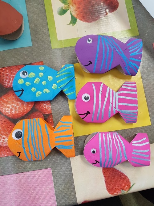 Les poissons de mes MS