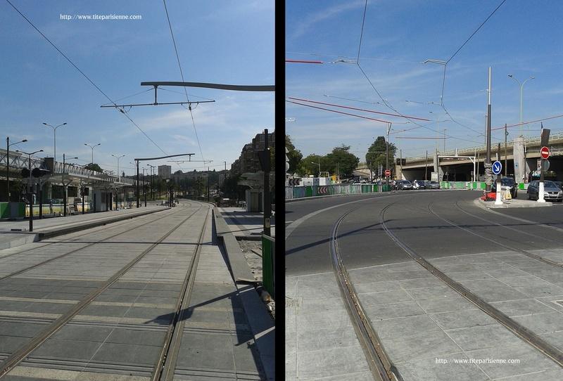 Souvenirs de la construction du Tramway 3b - Paris 19ème