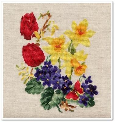 """Spring Flowers"" 6"